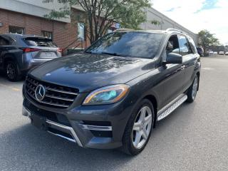 Used 2015 Mercedes-Benz ML-Class 4MATIC 4dr ML350 BlueTEC, DISTRONIC for sale in North York, ON