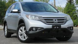 Used 2013 Honda CR-V AWD / EX-L /Sunroof/Backup camera for sale in North York, ON