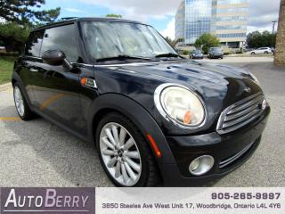 Used 2010 MINI Cooper Mayfair Edition - 6 Speed Accident Free!!! for sale in Woodbridge, ON