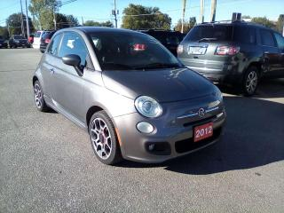 Used 2012 Fiat 500 Sport for sale in Leamington, ON