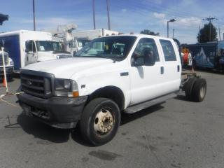 Used 2004 Ford F-450 SD Cab and Chassis Crew Cab 2WD Dually for sale in Burnaby, BC