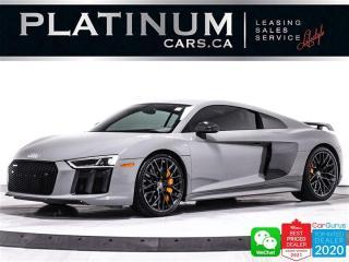 Used 2018 Audi R8 5.2 Quattro V10 Plus Exclusive, 610HP, CERAMICS for sale in Toronto, ON