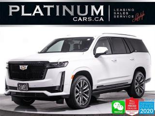 Used 2021 Cadillac Escalade Sport Platinum, V8, 7PASS, SUPER CRUISE, MASSAGE for sale in Toronto, ON