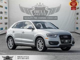Used 2015 Audi Q3 Technik, AWD, Navi, RearCam, Pano, NoAccident,B.spot, Sensors for sale in Toronto, ON