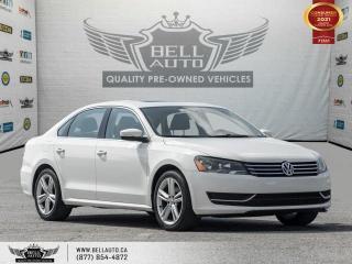 Used 2014 Volkswagen Passat Comfortline, NoAccident, SunRoof, LeatherInt, HeatedSeats for sale in Toronto, ON