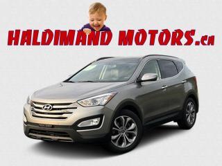 Used 2016 Hyundai Santa Fe Limited AWD for sale in Cayuga, ON