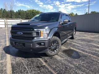 Used 2019 Ford F-150 XLT FX4 Crew 4WD for sale in Cayuga, ON