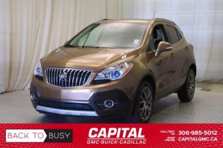 Used 2016 Buick Encore Sport Touring AWD*LEATHER*SUNROOF*NAV* for sale in Regina, SK