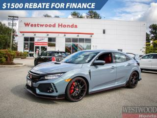 Used 2019 Honda Civic Type R Type R 6M for sale in Port Moody, BC
