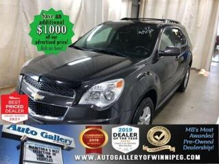 Used 2015 Chevrolet Equinox LT* Reverse Camera/Heated Seats/REMOTE STARTER for sale in Winnipeg, MB