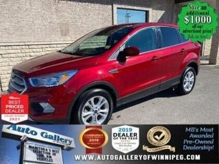 Used 2019 Ford Escape SE* 4WD/Heated Seats/Reverse Cam/REMOTE STARTER for sale in Winnipeg, MB