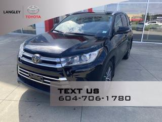 Used 2019 Toyota Highlander XLE for sale in Langley, BC