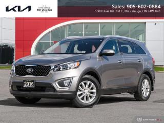 Used 2016 Kia Sorento 2.0L LX+ LOW FINANCING RATES // 6 YEAR WARRANTY for sale in Mississauga, ON