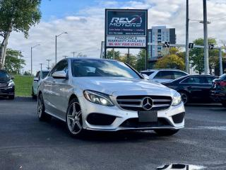 Used 2015 Mercedes-Benz C-Class C300 4MATIC | RED INT | SUNROOF | NAVIGATION for sale in Ottawa, ON