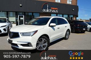 Used 2017 Acura MDX ELITE I HUD I BSM I LDW I NO CLAIMS for sale in Concord, ON