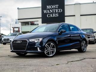 Used 2020 Audi A3 QUATTRO | S-LINE | PREMIUM | SUNROOF | BLIND | CAMERA for sale in Kitchener, ON