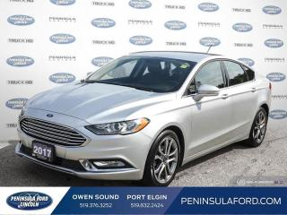 Used 2017 Ford Fusion SE - Bluetooth -  SiriusXM - $112 B/W for sale in Port Elgin, ON