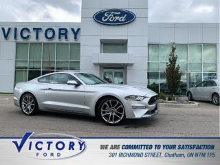 Used 2019 Ford Mustang EcoBoost   NAV   REMOTE START   COOLED SEATS for sale in Chatham, ON