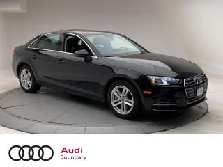 Used 2017 Audi A4 2.0T Komfort quattro 6sp for sale in Burnaby, BC