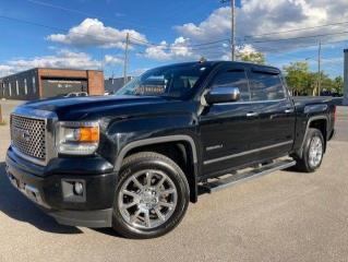 Used 2014 GMC Sierra 1500 DENALI-4WD-CREWCAB-LEATHER-SUNROOF-NAVI-LOADED for sale in Toronto, ON