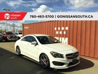 Used 2016 Mercedes-Benz CLA-Class 4MATIC, NAV, LEATHER for sale in Edmonton, AB