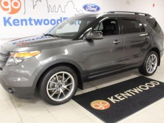 Used 2015 Ford Explorer Sport   4WD   Moonroof   NAV   Adaptive Cruise   2nd Row Buckets for sale in Edmonton, AB