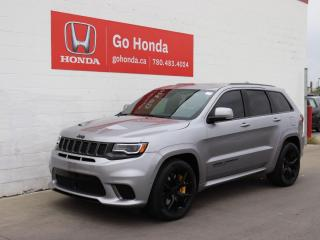 Used 2018 Jeep Grand Cherokee TRACKHAWK, 707 HORSE POWER, LOW KMS, NO ACCIDENTS! for sale in Edmonton, AB
