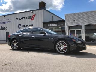 Used 2015 Maserati Ghibli S Q4 for sale in Aylmer, ON
