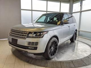 Used 2015 Land Rover Range Rover SC for sale in Edmonton, AB