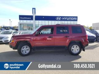 Used 2015 Jeep Patriot SPORT/4X4/AIR/POWER OPTIONS for sale in Edmonton, AB