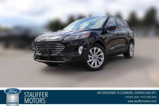 New 2021 Ford Escape Titanium Hybrid for sale in Tillsonburg, ON