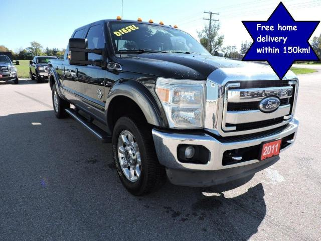 2011 Ford F-250 Lariat/FX4 Diesel 4X4 Leather Sunroof Navigation