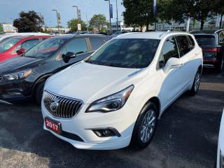 Used 2017 Buick Envision Essence AWD, HEATED FRONT AND REAR OUTBOARD SEATS, REMOTE START, HEATED STEERING WHEEL, POWER LIFTGATE, REAR for sale in Mississauga, ON