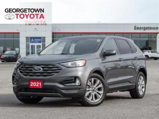 Used 2021 Ford Edge Titanium for sale in Georgetown, ON