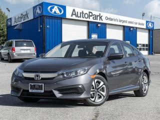 Used 2017 Honda Civic Sedan LX CVT BACKUP CAM HEATED SEATS BLUETOOTH A/C for sale in Georgetown, ON