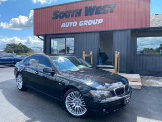 Used 2008 BMW 7 Series 750i|Navi|Sunroof|Htd&Cooled&Massage Lthr Seats for sale in London, ON