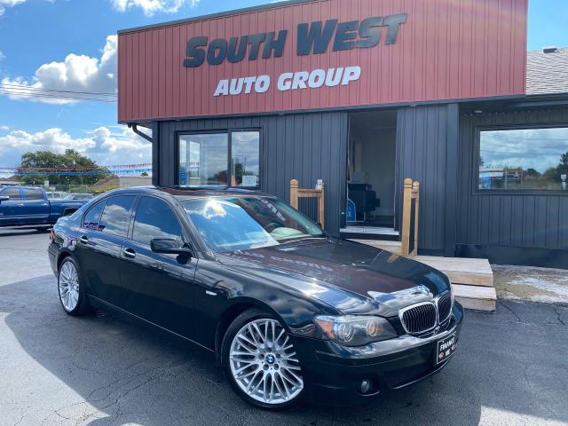 2008 BMW 7 Series 750i|Navi|Sunroof|Htd&Cooled&Massage Lthr Seats