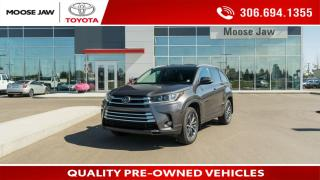 Used 2018 Toyota Highlander XLE for sale in Moose Jaw, SK