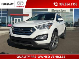 Used 2013 Hyundai Santa Fe Sport 2.0T Premium 2.0T SPORT AWD, HEATED LEATHER, PANORAMIC ROOF, REMOTE STARTER, BACK UP CAMERA for sale in Moose Jaw, SK
