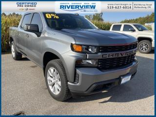 Used 2020 Chevrolet Silverado 1500 Silverado Custom One Owner | Remote Vehicle Start | Cruise Control for sale in Wallaceburg, ON