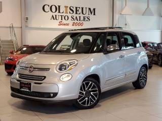 Used 2014 Fiat 500L LOUNGE ONLY 70KM-NO ACCIDENTS-ROOF-CAMERA-LEATHER for sale in Toronto, ON