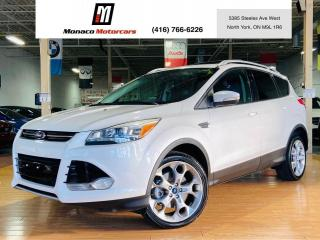 Used 2013 Ford Escape Titanium - NAVI | PANO | LEATHER |4WD for sale in North York, ON