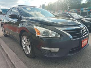 Used 2014 Nissan Altima EXTRA CLEAN-BK UP CAM-BLETOOTH-AUX-USB-ALLOYS for sale in Scarborough, ON