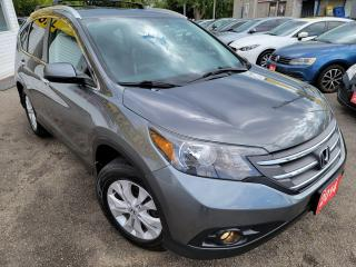 Used 2014 Honda CR-V Touring/AWD/NAVI/B.CAM/P.ROOF/ALLOYS/LEA/H.SEATS for sale in Scarborough, ON