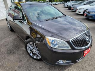 Used 2013 Buick Verano Convenience/NAVI/CAMERA/LEATHER/ROOF/LOADED/ALLOYS for sale in Scarborough, ON
