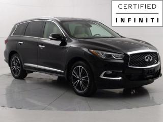 Used 2018 Infiniti QX60 AWD Deluxe Tech PKG, Nav, Heated/Cooling seats, DVD Player for sale in Winnipeg, MB
