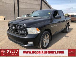 Used 2012 RAM 1500 SPORT for sale in Calgary, AB