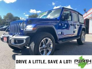 Used 2019 Jeep Wrangler Unlimited Sahara for sale in Mitchell, ON