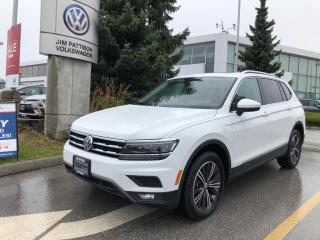 New 2021 Volkswagen Tiguan HIGHLINE R-LINE 4MOTION for sale in Surrey, BC