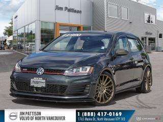 Used 2015 Volkswagen Golf GTI 5-Door Autobahn - LOCAL - ONE OWNER - LOW MILEAGE for sale in North Vancouver, BC